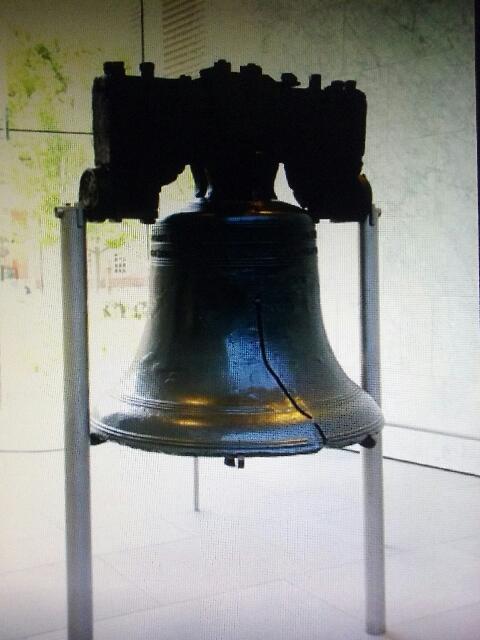 La cloche est un vrai symbole aux États-Unis d'Amérique