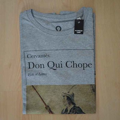 Le modèle Don Qui Chope de Cervantès en gris.