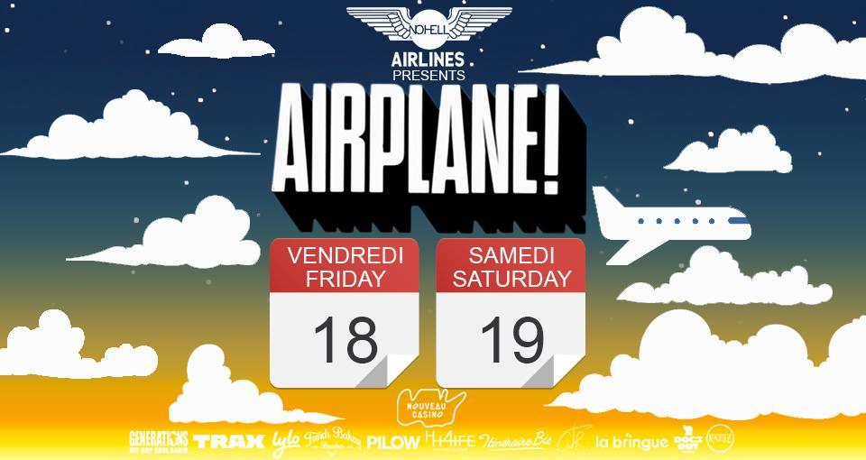 Jeux concours - Airplane : Tous les vendredis et samedis d'août