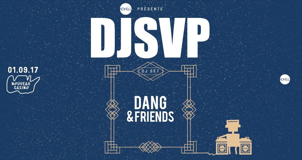 Jeux concours - Soirée DJSVP le 1er septembre au Nouveau Casino