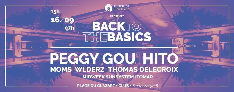 Jeux concours - Soirée Back to the basics le 16 septembre à LaPlage de Glazart