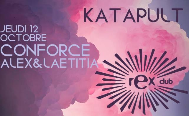 Jeux concours - Soirée Katapult le 12 octobre au Rex Club