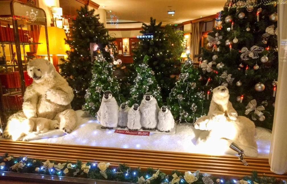 décorations de Noël ours