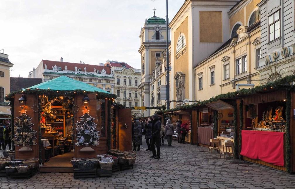 Vieux marché de Noël viennois