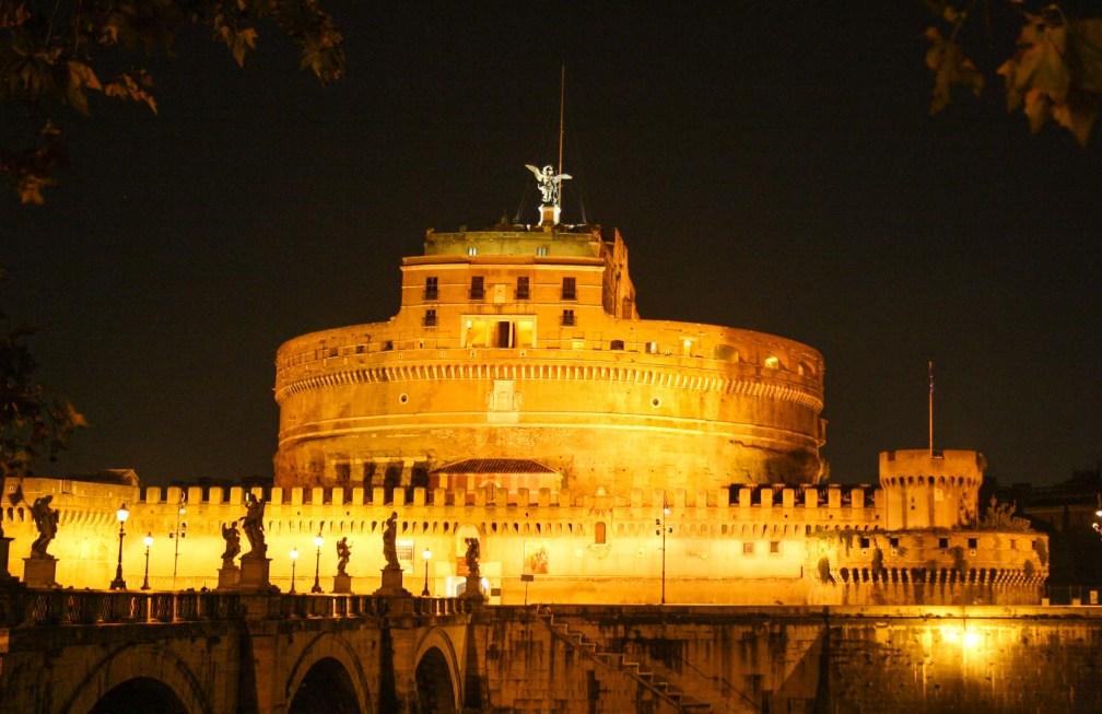 château Saint-Ange nuit