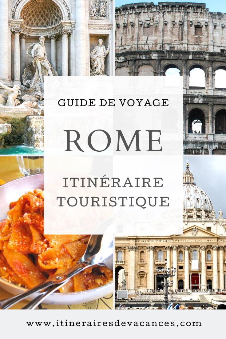 visiter rome à pied