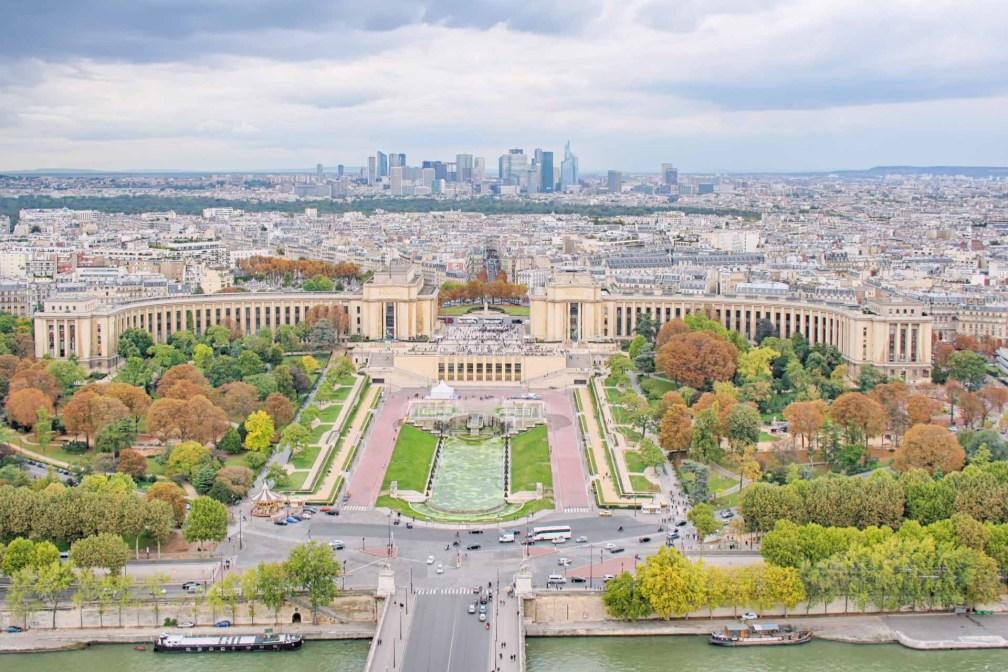 Tour Eiffel vue