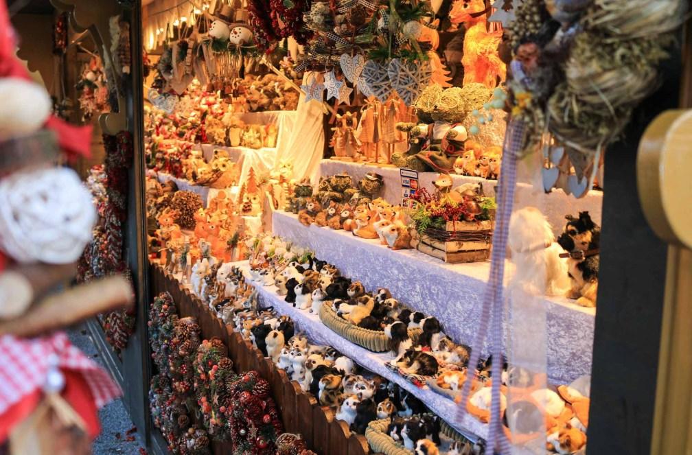 Marché de Noël à l'église Kaiser-Wilhelm-Gedächtniskirche