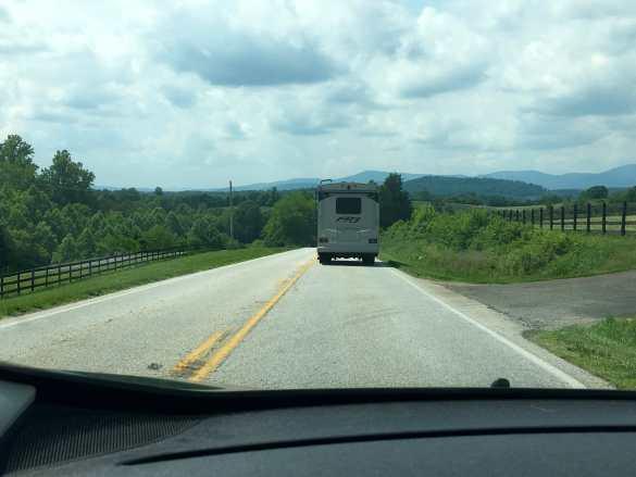 Review: Natural Bridge, Blue Ridge Parkway and Lynchburg KOA.