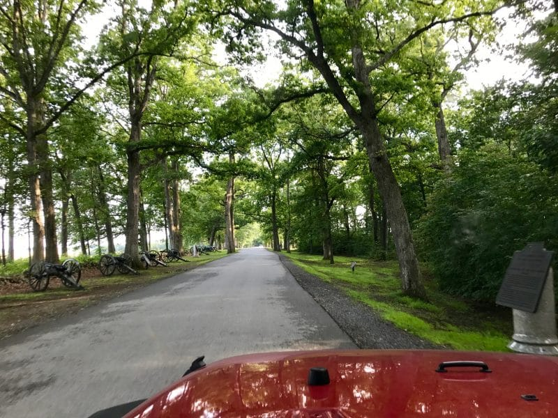 Auto tour of Gettysburg