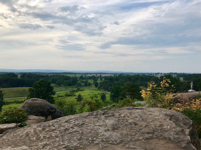 Overlook at Gettysburg