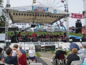 Big Band at Lobster Festival