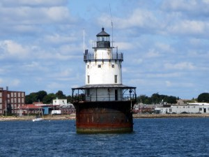 Butler Flats Lighthouse - New Bedford