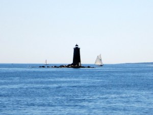 Exiting Portsmouth Harbor