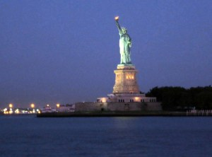 Lady Liberty at Dawn