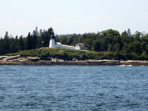 Owls Head Lighthouse - Exiting Rockland