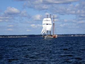 Sailing Out of New Bedford