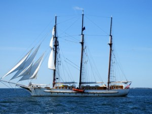 Three Masted Vessel