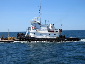 Tug Coming Out of New Bedford