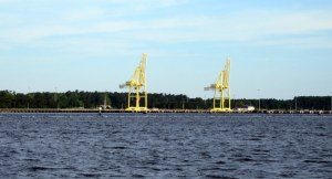 Largest Military Transport Terminal - Cape Fear River