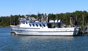 UNC Research Vessel - along the ICW