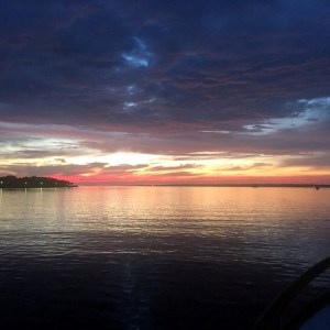 Sunrise Charleston Harbor