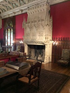 Fireplace in Gothic Room