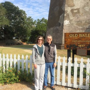 In front of Old Baldy