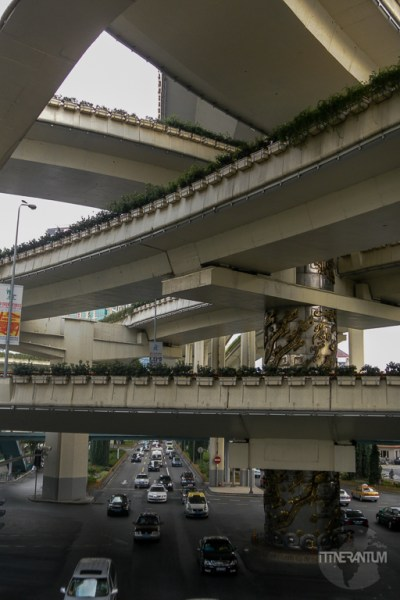 Multi level intersection in Beijing