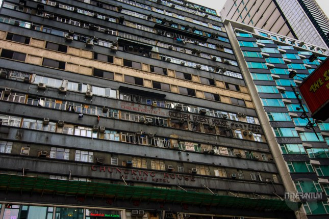 Chungking Mansions, very affordable accommodation in the city
