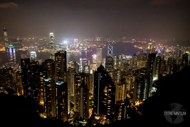 Victoria Peak, the best place to take a bird's-eye view of Hong Kong