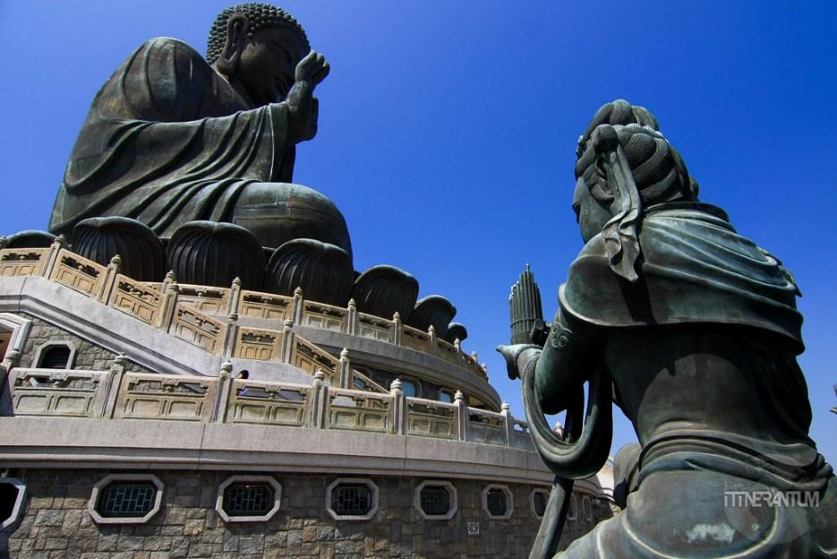 The Big Budha on Lantau Island