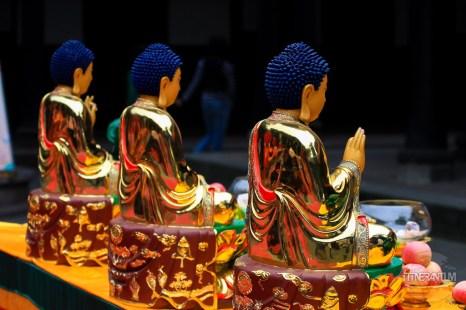 statue buddhism zen chengdu sichuan in wenshu temple