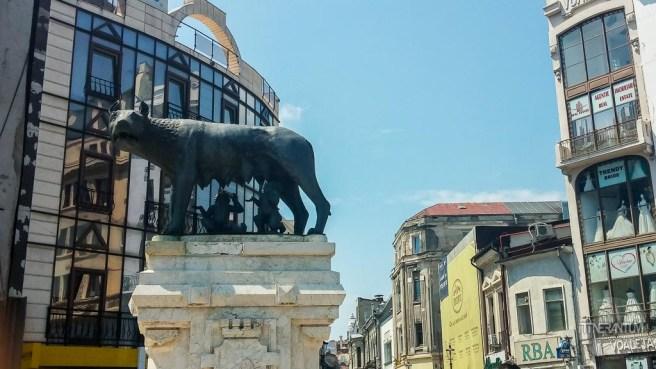 She-Wolf in Bucharest