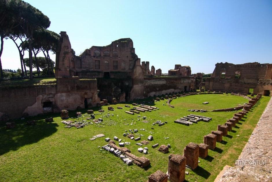 Hippodrome of Domitian Palatine Rome