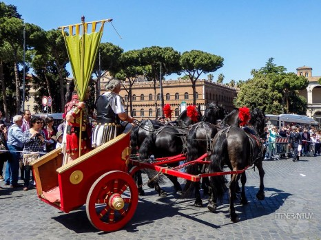 roman parade in rome