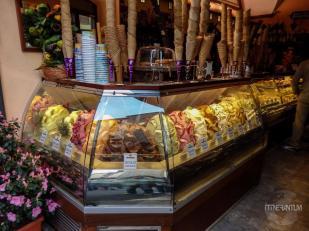 Italian gelato Florence