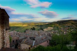 Montepulciano panoramic view