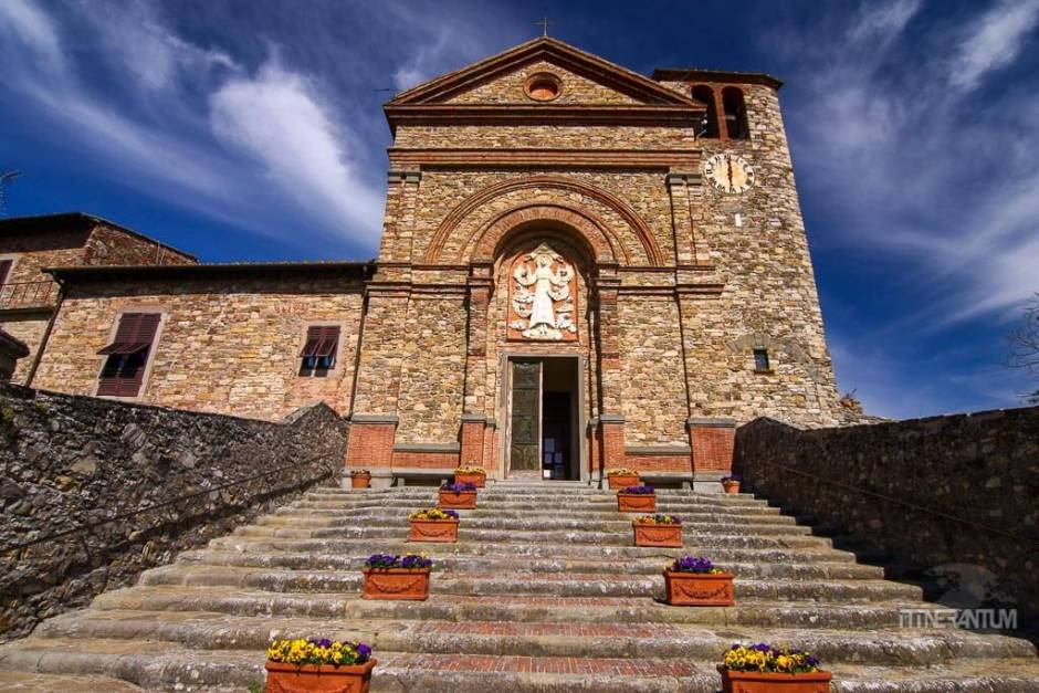 Santa Maria Church in Panzano