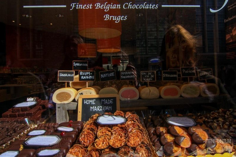 Belgian chocolate Bruges