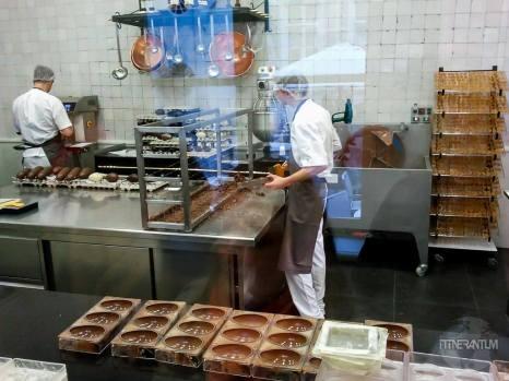 belgium chocolate factory