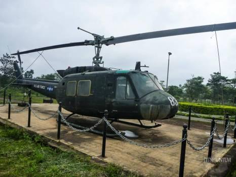 US airbase at Khe Sanh, dmz, vietnam