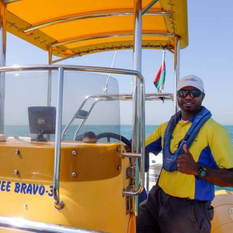 yellow boat tour dubai