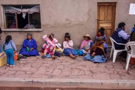 people waiting for the party salar de uyuni bolivia