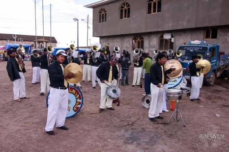 people playing the instrument at a party salar de uyuni