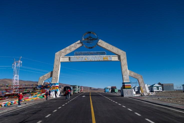 Höchster Punkt unserer Reise - der Gyatso La Pass auf 5248 m