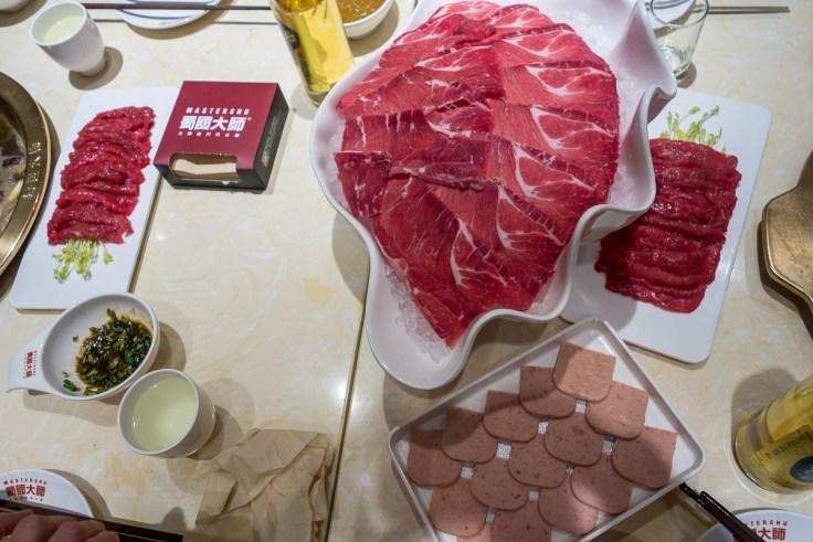 Fleisch auf unserem Tisch