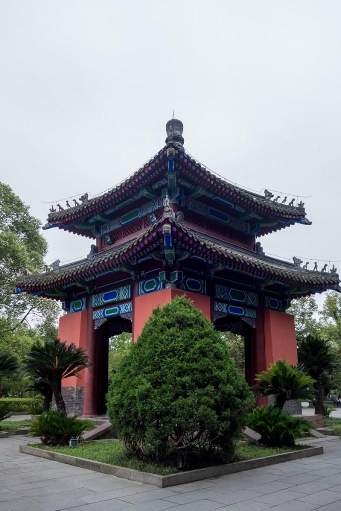 Pavillion im Wuhou Park