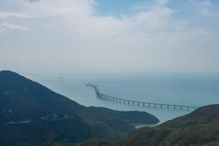 Neue Strassenbrücke zwischen Hong Kong und Macau