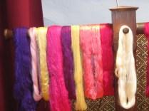 madejas de seda